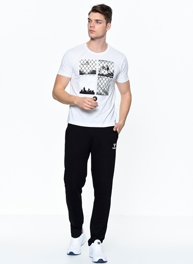Hummel Erkek Agoptos Tişört 910378-9001 Beyaz